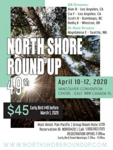 North Shore Round Up 2020 Poster